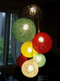 Blogs sites garden pinterest yarn ball yarns and craft 12 beautiful diy lighting designs you can do yourself for your cottage yarn ball ball solutioingenieria Choice Image