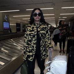 Blac Chyna is seen arriving at LAX Airport