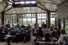 One of the workshop sessions at the 2015 Eden Tourism Summit.