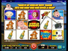 Hracie automaty Family Guy - Rodinka Griffin na hracom automate Family Guy od firmy IGT je inšpirovaná veľmi populárnym kresleným seriálom Family Guy.  #HracieAutomaty #VyherneAutomaty #Jackpot #Vyhra #FamilyGuy - http://www.slovenske-casino.com/online-kasino-hry/hracie-automaty-family-guy-2