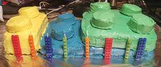 Kyran's 8th birthday Lego cake.