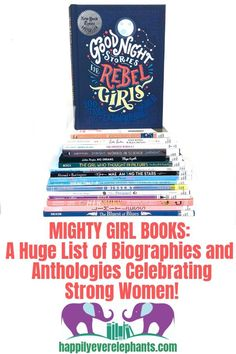 The best list for young girls featuring strong and mighty girls. Best Children Books, Childrens Books, Mighty Girl Books, Books To Read For Women, Creative Activities For Kids, Summer Reading Lists, Book Suggestions, Learning Letters, Strong Girls