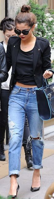 Women Latest Fashion: Street Style, Selena Gomez, Summer Into Fall Outfi...