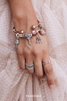 2577045f0 Get Jewelry Style Inspiration | PANDORA Jewelry US. Pandora RingsBracelet  Pandora CharmsPandora ...