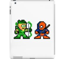 8-bit Green Arrow & Deathstroke iPad case - $45