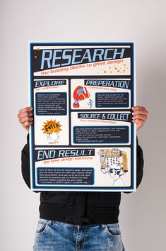 Research Poster on Behance Web Design, Book Design, Graphic Design Posters, Graphic Design Inspiration, Academic Poster, Research Posters, Scientific Poster Design, Prospectus, Plakat Design