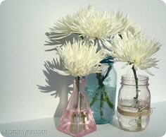how to tint your mason jars to look vintage.. tutorial