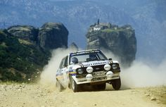 """""""Life is not just about the perfect results. I'm sorry, that's boring. Life is all about entertainment. Life is about living it to the fullest. Rally Raid, Classic Race Cars, Ford Escort, Acropolis, Car And Driver, Car Car, Fast Cars, Sport Cars, Cars Motorcycles"""
