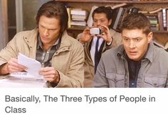I am all three. But actually just Cas and Dean