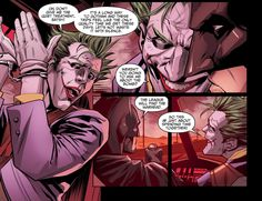 batman kills the joker Joker Comic, Joker Dc, Joker And Harley Quinn, Comic Art, Comic Books, Joker Arkham, Dc Comics, Cosmic Comics, Lego Knights