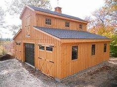 Pole Barn Living Quarters Plans | Joy Studio Design ... #PortableShedPlan