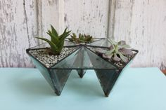 For the Host | Halona Glass: Table Top Prism | Friends & Neighbors