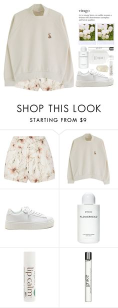 """► vera"" by amxnduhh ❤ liked on Polyvore featuring Haute Hippie, Byredo, John Masters Organics, philosophy and Polaroid"