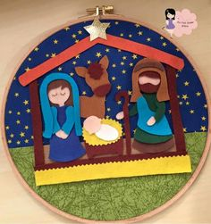 Presepio Diy And Crafts, Kids Rugs, Christmas Ideas, Country, Home Decor, Craft Ideas, Christmas Baubles, Wreaths, Lockets