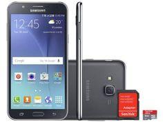Smartphone Samsung Galaxy J7 Duos 16GB Dual Chip - 4G Câm 13MP + Selfie 5MP Flash + Cartão 8GB com as melhores condições você encontra no Magazine Varejaovitrinedeouro. Confira!