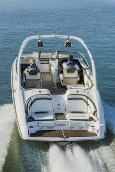 Yamaha's flagship 242 Limited S reaches new heights in 2015 with an all-new platform that's more spacious, technologically advanced and more refined than any other 24-foot boat in history. These craft have been engineered from the ground up with a host of Yamaha-exclusive technologies including ConnextTM, Yamaha Quiet Cruise and Advanced Responsive Handling featuring a patented Articulating Keel.
