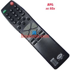 Buy remote suitable for BPL Tv Model: RC 92X at lowest price at LKNstores.com. Online's Prestigious buyers store.