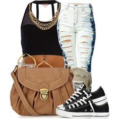 Untitled #687, created by ayline-somindless4rayray on Polyvore