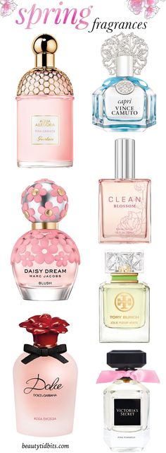 Dump your heady winter scents and go steady with one of these fresh, invigorating spring fragrances!