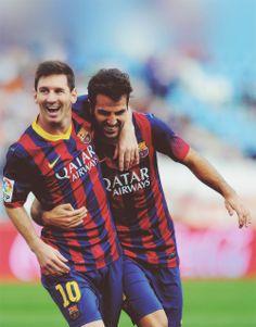 Messi -  Fábregas