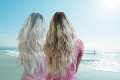 Sea Salt Spray for Hair... create waves that just don't happen anywhere else