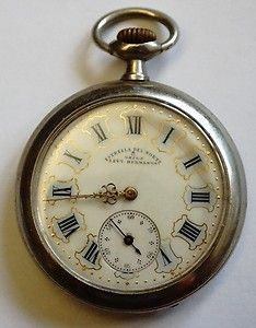 Vintage Antique Omega Estrella Del Norte Levy Hermanos Open Face Pocket Watch | eBay