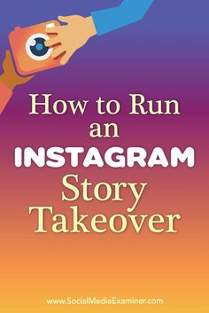 Collaborating with highly engaged Instagram users will introduce their followers to your content.In this article, you��lldiscover how to plan and execute an Instagram Story takeover.