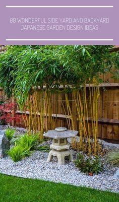 80 Wonderful Side Yard And Backyard Japanese Garden Design Ideas Adorable 80 Wonderful Side Yard und Hinterhof japanischen Garten Design-Ideen Quelle: