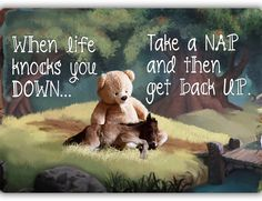 Nap Sign - Louise's Country Closet Aluminum Signs, Take A Nap, Little People, Knock Knock, Teddy Bear, Quote, Life, Country, Closet