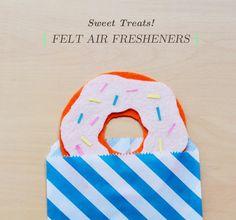 No-Sew Felt Air Fresheners