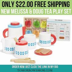 So cute!! Melissa & Doug just came out with this set (25% off) free shipping $22GO to link in my bio @tomorrowsmom for details . . . . Visit My Blog: TomorrowsMom.com |Organic & Natural Deals|Family Savings Deals| . TAG OR DM THIS DEAL 2 A FRIEND . . #frugal #savings #deals #cosmicmothers  #organic #fitmom #health101 #change #nongmo #organiclife #crunchymama #organicmom #gmofree #organiclifestyle #familysavings  #healthyhabits #lifechanging #fitpeople #couponcommunity #deals  #healthyppl…