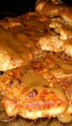 Pan Fried Pork Chops with Gravy Recipe