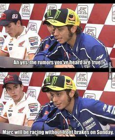 Funny Valentino Rossi