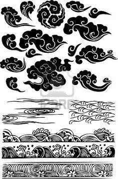 japanese clouds tattoo - חיפוש ב-Google More