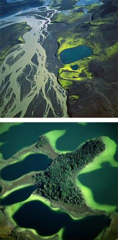 For the past 13 years, German photographer Bernhard Edmaier has been taking astonishing photos of landscapes shaped in the course of natural geological processes, without any human influence or manipulation.