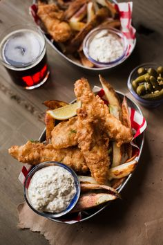 The Ultimate Classic Beer-Batter Fish & Chips — Rustic. - The Ultimate Classic Beer-Batter Fish & Chips — Rustic. Whole30 Fish Recipes, Beer Recipes, Vegetarian Recipes, Recipies, Pub Food, Food Menu, Beer Food, Shellfish Recipes, Seafood Recipes