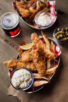 The Ultimate Classic Beer-Batter Fish & Chips — Rustic. Joyful. Food.