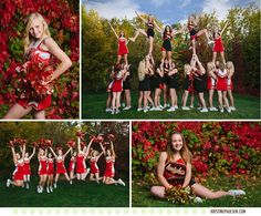 Missoula Hellgate High School Cheerleaders  www.kristinepaulsen.com