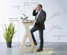 Do you work upwards? If so, make sure to do so in the correct way! Ergonomic tips for a great posture.