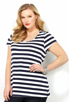 6bf286d10bc Plus size fashion clothing including tops