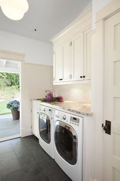 Waterfront Estate Laundry Room