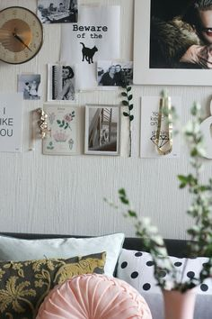 I like this type of randomness wall. :)