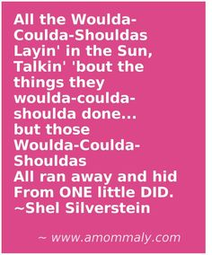Shel Silverstein poem :