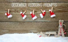 december vlogging pr