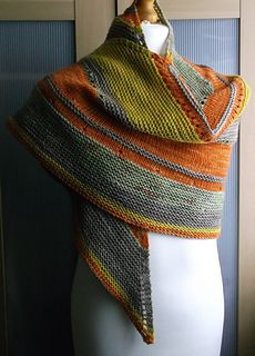 Ravelry: sunny delight shawl pattern by Brian smith- I love the colors and I usually don't like grays and oranges together. Shawl Patterns, Knitting Patterns, Crochet Patterns, Knitted Shawls, Crochet Scarves, Knit Or Crochet, Crochet Shawl, Knitting Yarn, Hand Knitting