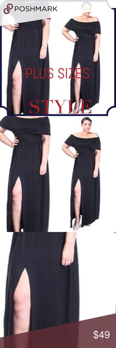 COMING SOON Off The Shoulder Maxi Dress NEW: When you wear this off the shoulder dress, it makes you look and feel adorable. Made in the USA the color is Royal Blue 95% Rayon 5% Spandex **Price is Firm** Passion Of Essense Dresses Maxi