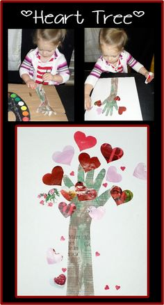 Toddler Time Tips @ https://www.facebook.com/toddlertimetips Heart Tree