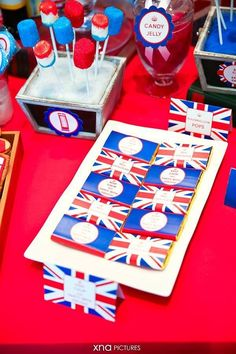 A British Themed Birthday perfect for a Royal Little Prince by Fairy Floss Party and Favours London Theme Parties, British Themed Parties, British Party, London Party, Boy First Birthday, Boy Birthday Parties, Birthday Ideas, 10th Birthday, England Party