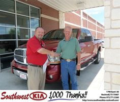#HappyAnniversary to Jay Atkins on your 2006 #Dodge Truck #Ram 2500 from Richard Branch at Southwest KIA Rockwall!