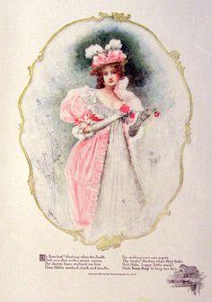 1897 Ivory Soap Ad ~ Leon Moran Color Art